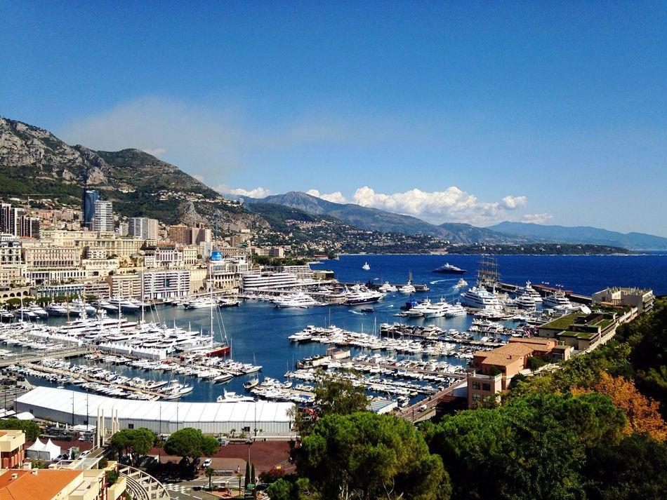 Beautiful stock photos of monaco, Horizontal Image, Monaco, Scenic Lookout, boat
