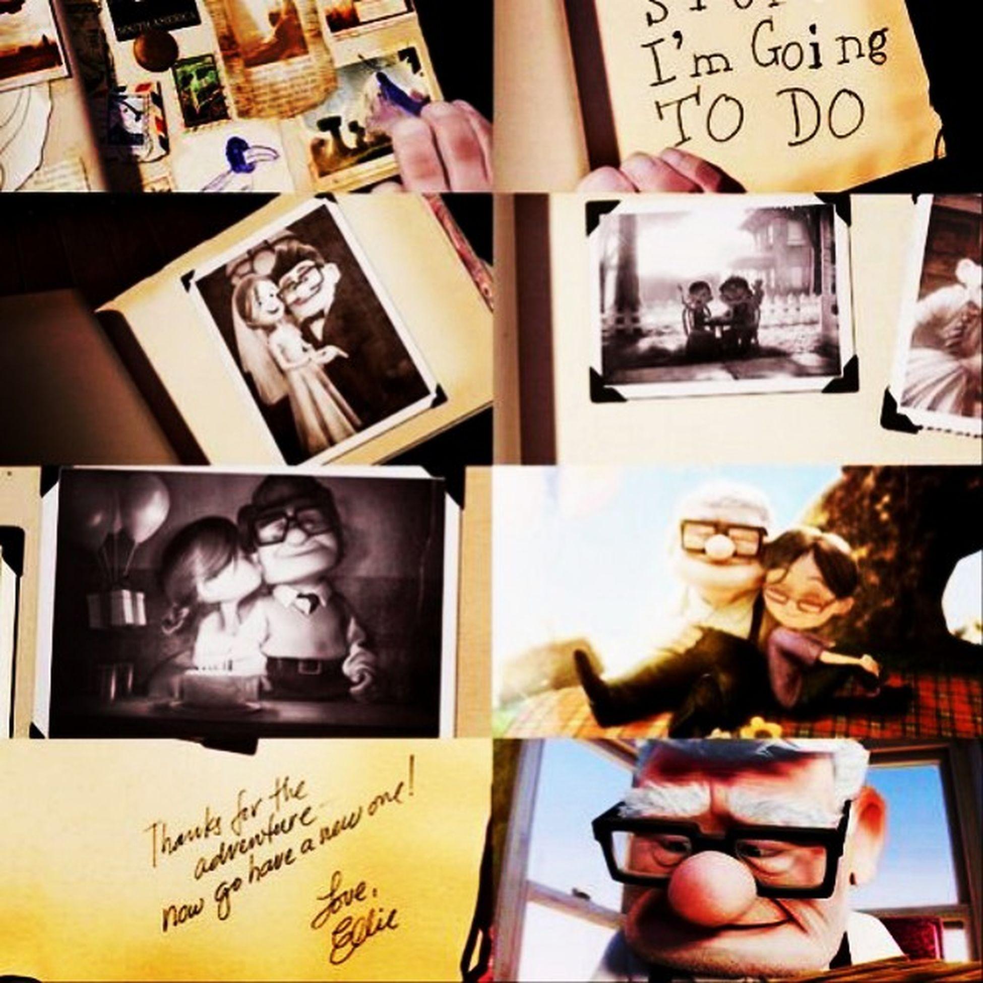 Eu desejo pra mim a mesma história e intensidade de amor O filme mais puro e lindo! 💕 Up Upaltasaventuras Upaltasaventurasfilme Melhorfilme amoreterno kevin beautifulmovie lovin