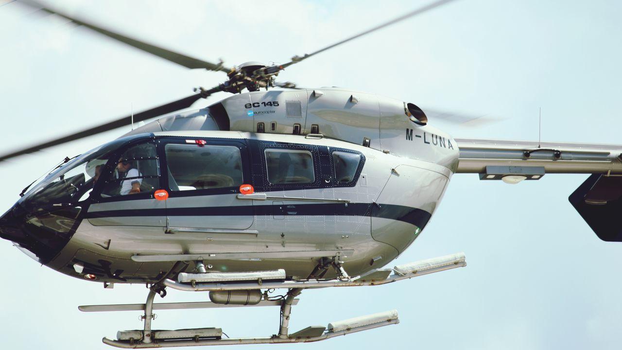 Have a nice flight mr. Abramovitj Helicopter Port Of Copenhagen