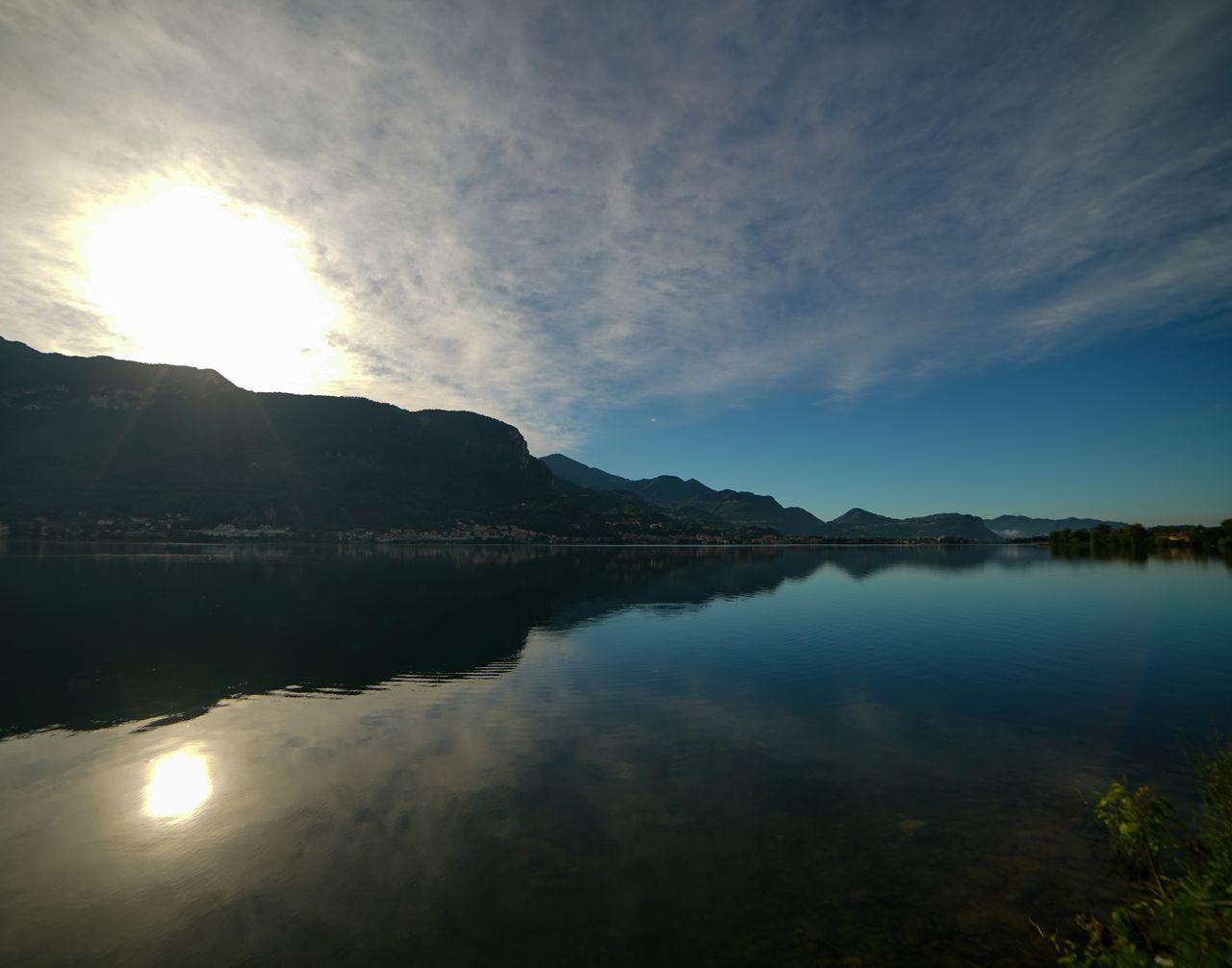 Lake View Lago Di Garlate Lago Bluesky Alba mattina Mattina Presto Lago Di Como, Italy Lecco Sony A7r2 Samyang 14㎜ ƒ/2.8G