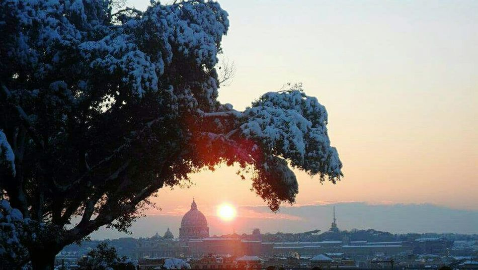 Roma SanPietro Pincio Rome Italy🇮🇹 Italia Caputmundi Winter_collection Neve Snow ❄