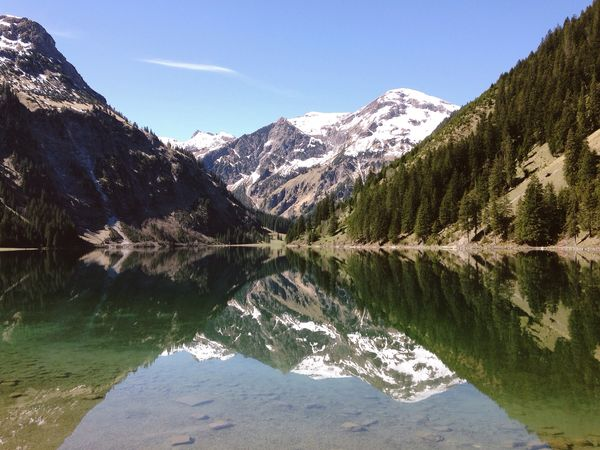 Lake Mountains The Great Outdoors - 2015 EyeEm Awards EyeEm Masterclass EyeEm Best Edits EyeEm Best Shots Tannheimer Tal Austria Vilsalpsee Tranquil Scene Beauty In Nature No People Reflections In The Water Forest Green Color Outdoors Water