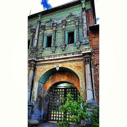 Church Architecture Gate Fresco