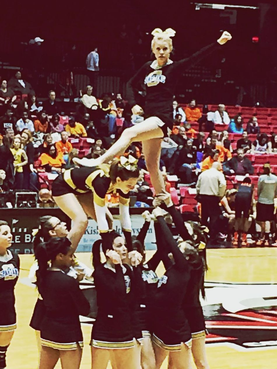 I miss this... Even tho my face is stupid in this picture. Cheerleading Miss It Passion My Sport