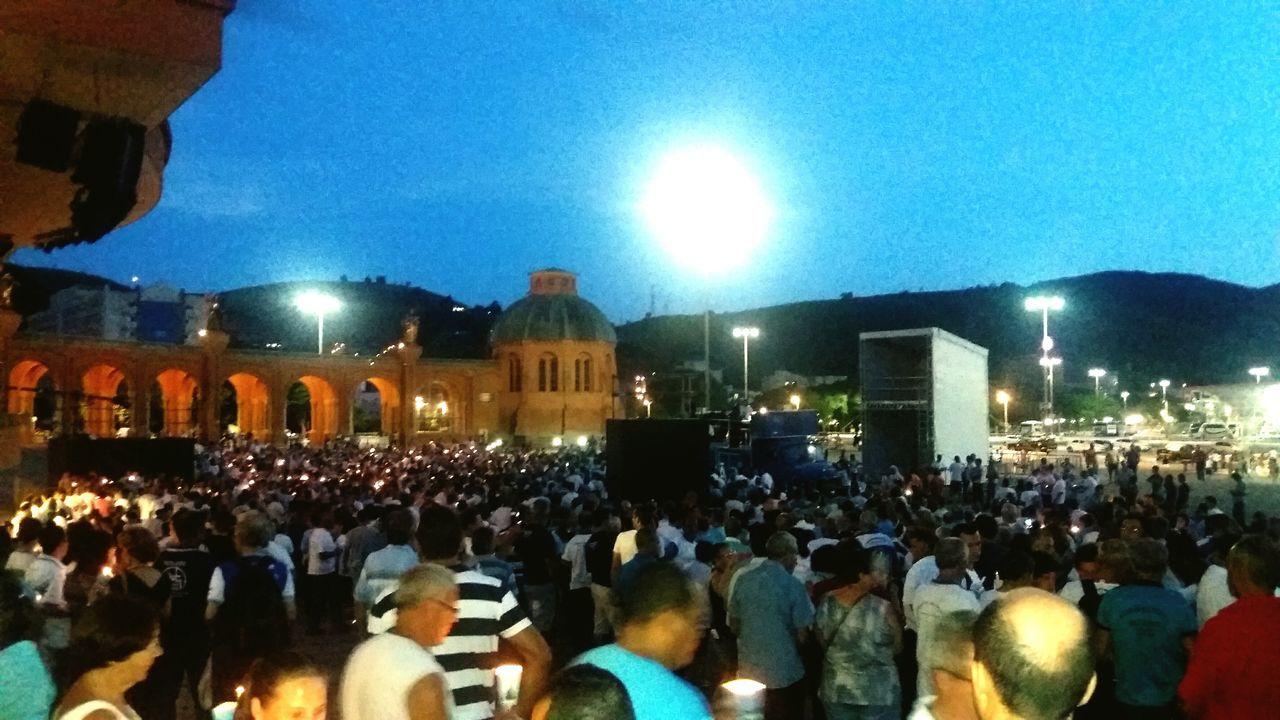 Concentração do Terço Dos Homens no encobtro nacional na Basílica De Nossa Senhora Aparecida TCPM