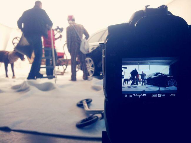 Merry xmas life on set filmset behind the scenes knitterfisch Knitterfisch