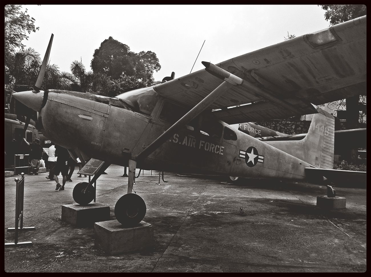 War Flight Memories at War Remnants Museum Ho Chi Minh City