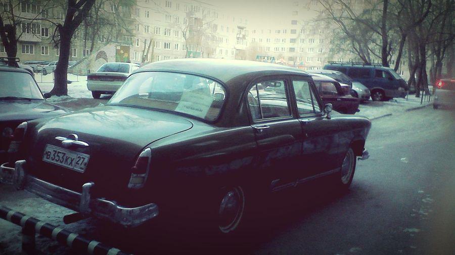 Car Retro Gas Car Vintage Cars Russia Followme Car Ride  Abakan Enjoying Life Hello World
