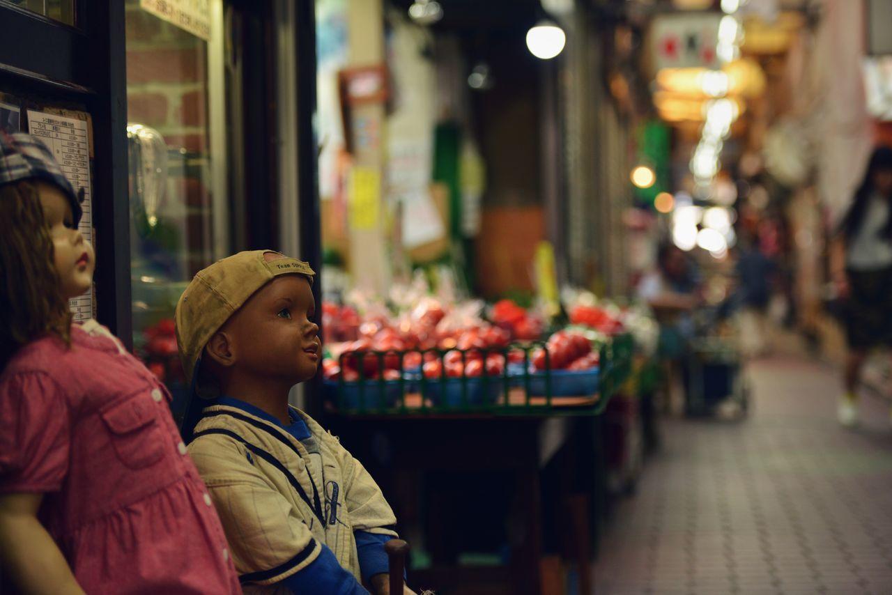 Dolls At Market