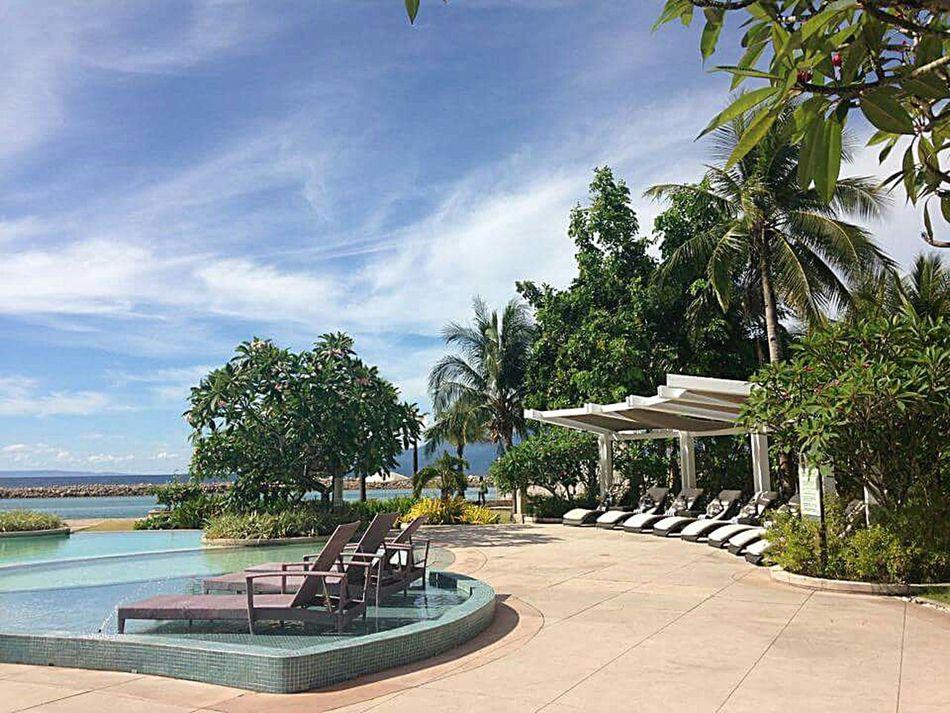 Misibisbay Bicol Sea Bluesky 🌈🌈🌈 Water Travel Tree Blue Peacefull Wonderful_places