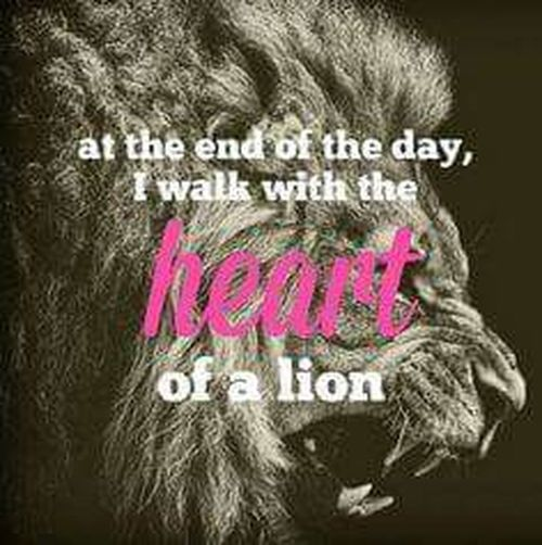 King Leo Heart Of A Lion