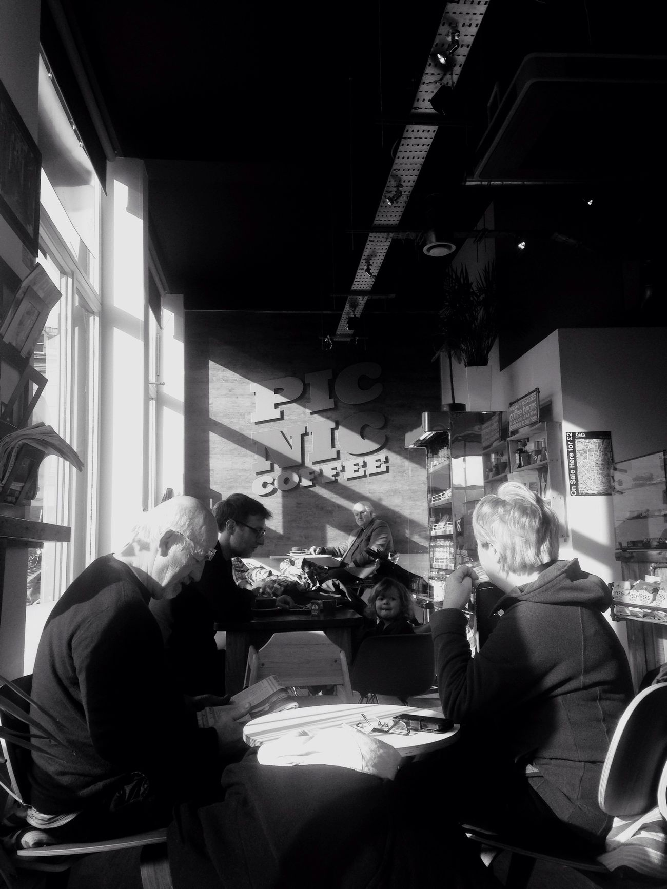 Coffee and chat IPhoneography Bathcity Evedoyle Wildcat Media Espresso Enjoying Life on a Sunday morning.....