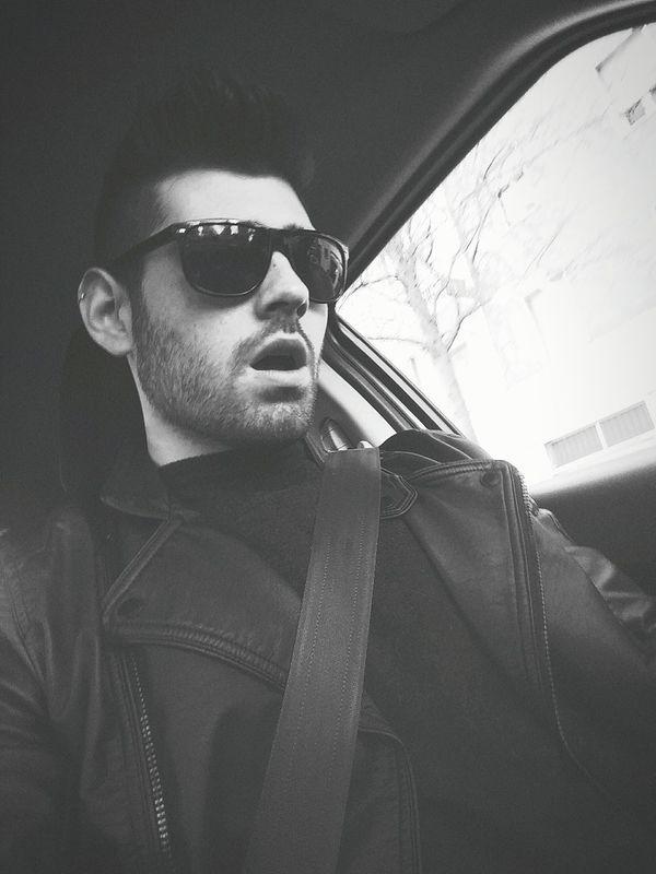 Can't help singing while driving Singer  Modena Car Singing Rammstein Benzin