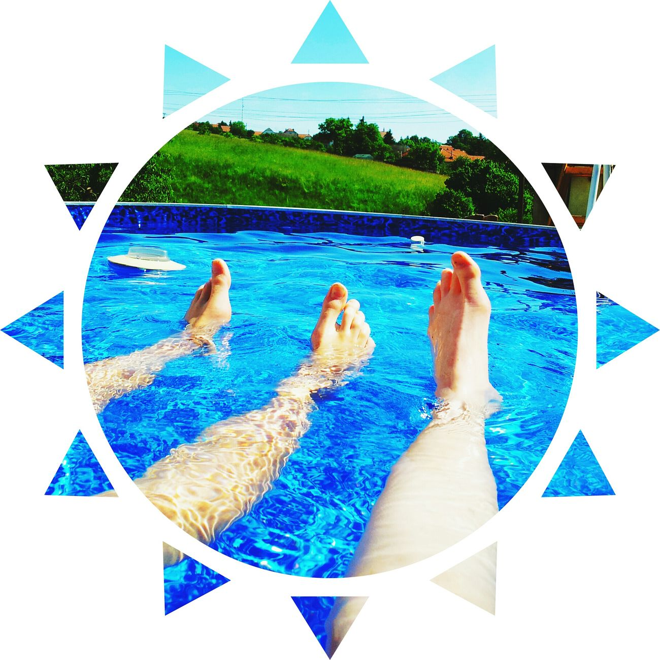 We want summer! ?? Relax Swimming Pool Hot Water Afterlightapp Chilling Sun Summer Beautiful Day Awesome