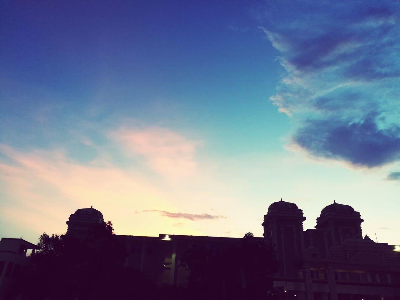 Evenings Love Sunset Sky