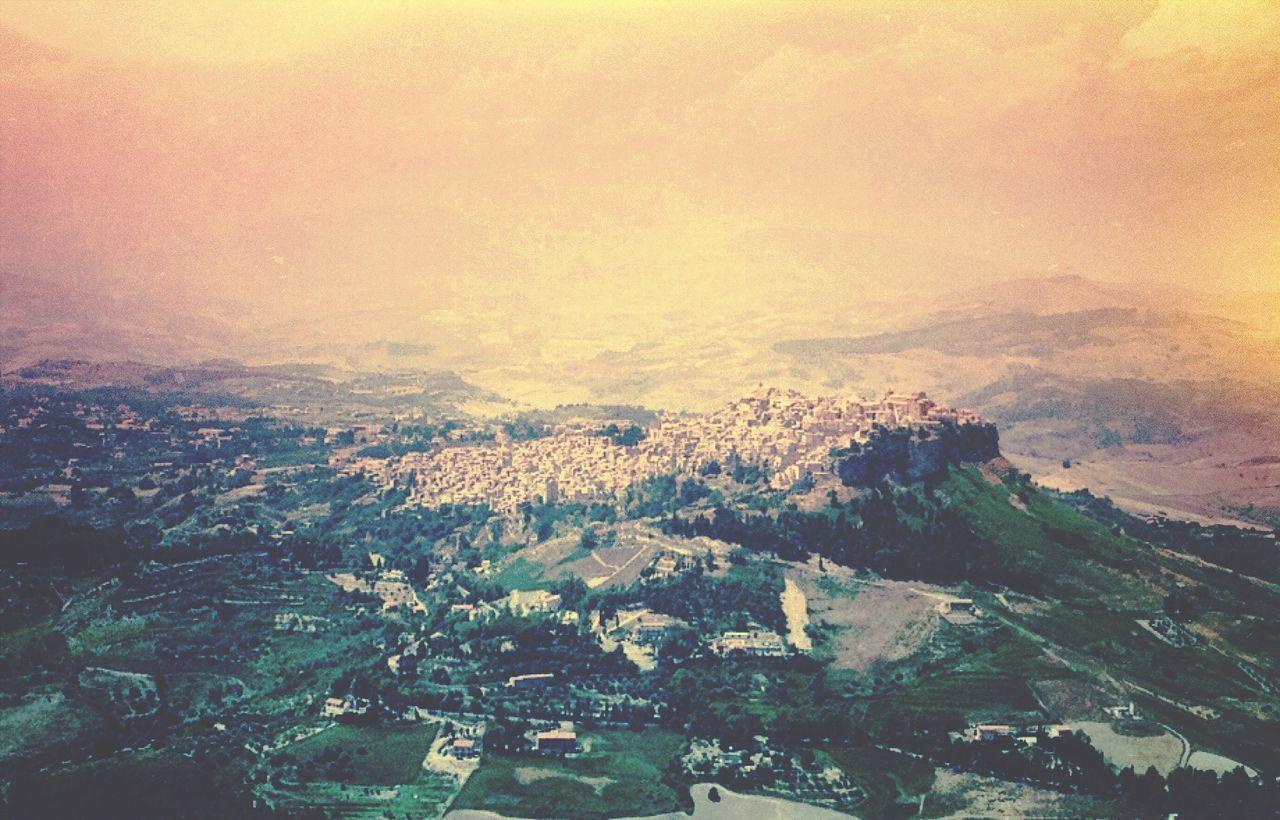 View from Enna Sicily Edited EyeEm Best Shots Town