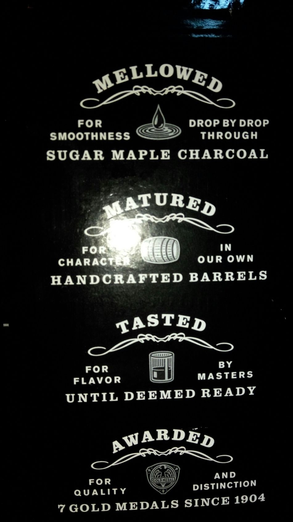 Jack daniels... JD Jackdaniels Jack Daniels Whiskey Bottle Ingredients Mellowed Drinks Matured Tasted , London ,