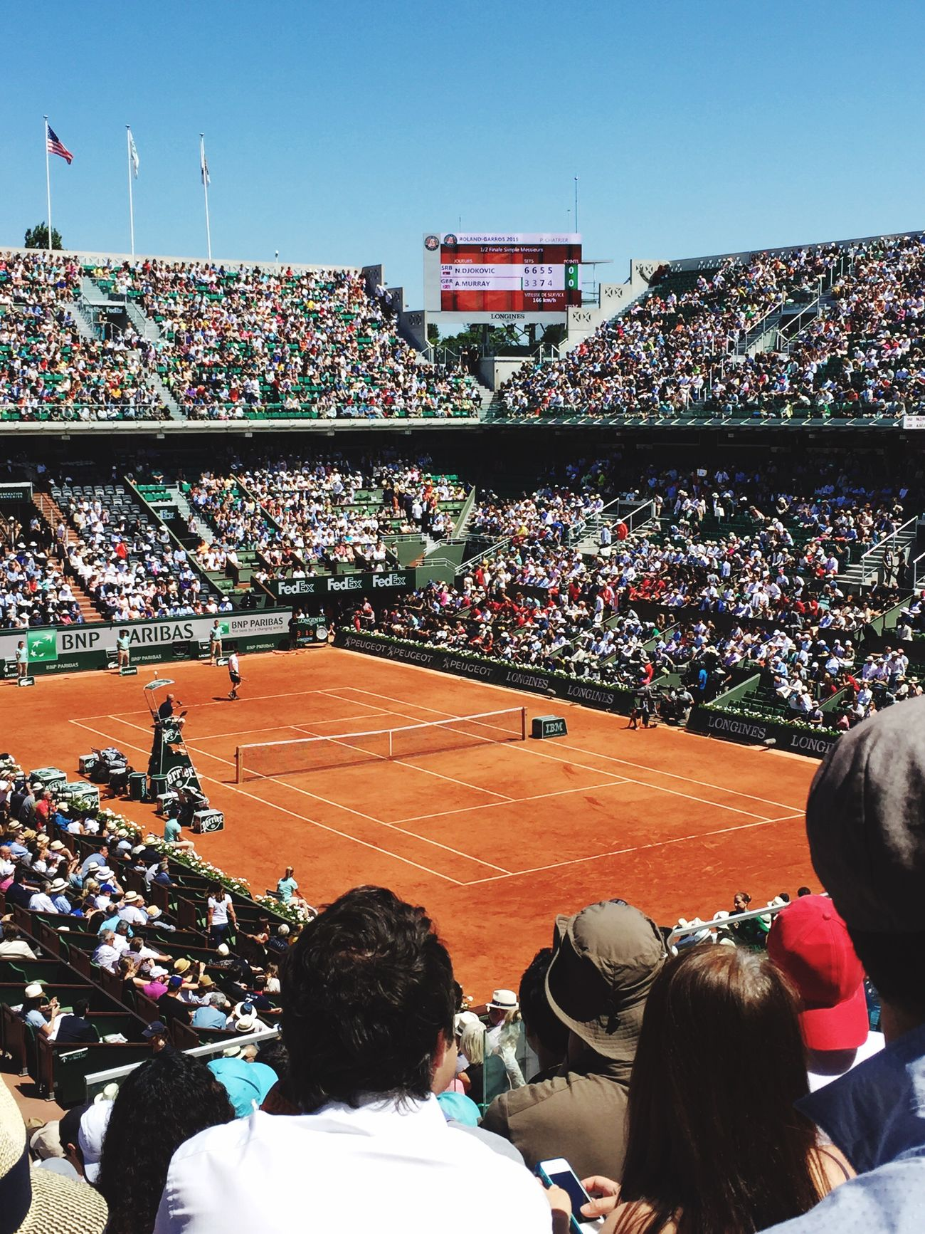 First Eyeem Photo Roland Garros 2015! ROLAND GARROS Tenniscourt Tennis 🎾 First Eyeem Photo