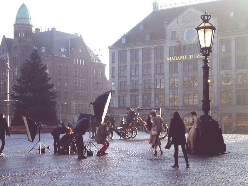 Amsterdam Travel Fashion Fashion Shoot Lights Camera Model Europe Winter Madame Tussauds Cobblestone Streetlight Streetlamp Netherlands Holland Horse And Carriage Your Amsterdam