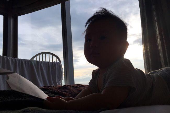 My Boy Son Baby Love Sky Sunshine Whongkong