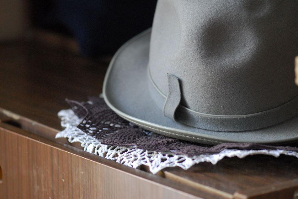 Brown Grey Hat кружево серый текстура шляпа шляпа с полями