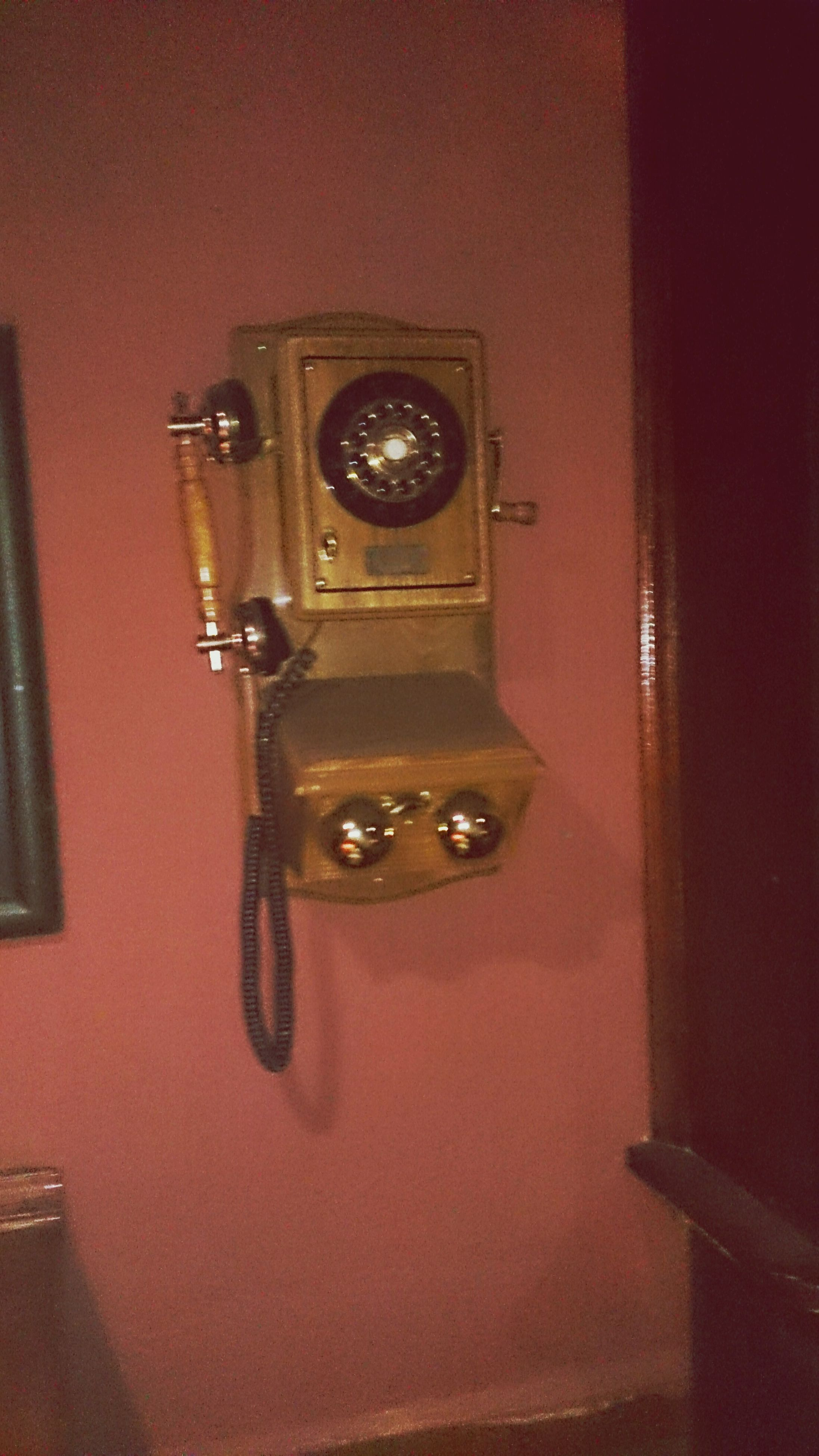 indoors, close-up, door, old-fashioned, technology, retro styled, wall - building feature, metal, time, old, no people, antique, single object, number, clock, security, telephone, wood - material, still life, doorknob