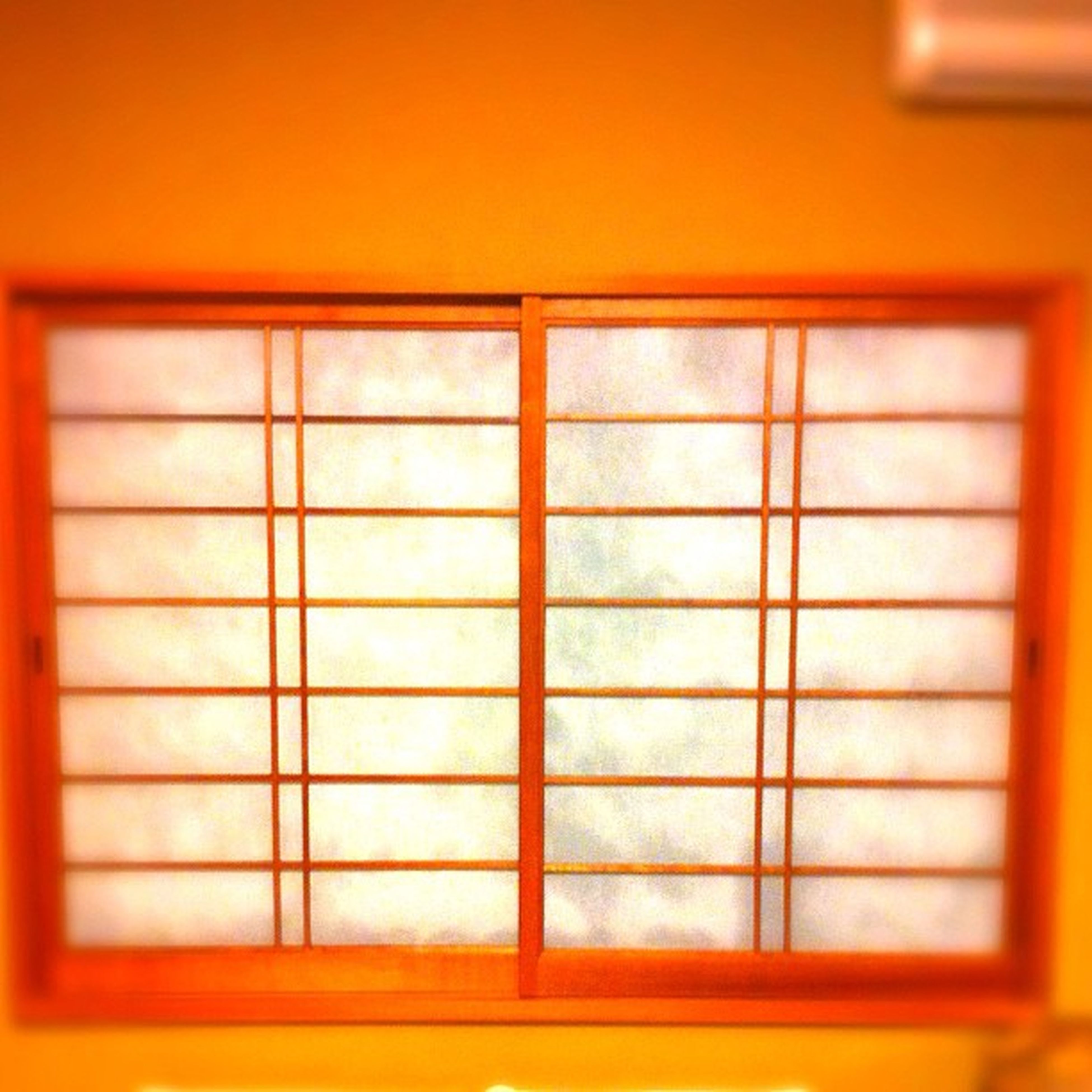 indoors, window, closed, built structure, architecture, yellow, door, house, wall, wall - building feature, orange color, no people, full frame, pattern, shutter, safety, wood - material, close-up, blinds, building exterior