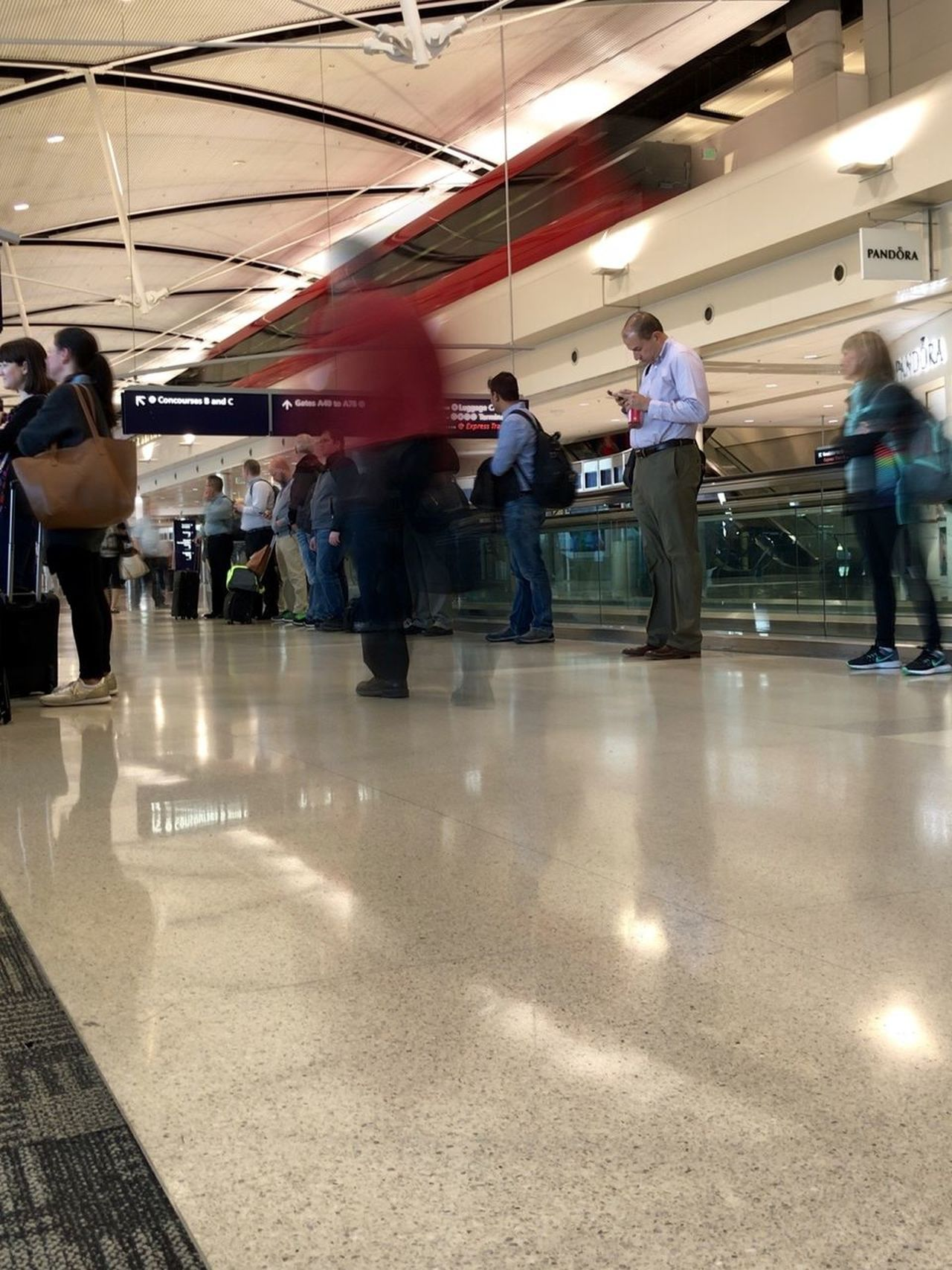 Airport Indoors  IPhone 7 Plus IPhone 7Plus IPhoneography Journey Passenger Public Transportation Real People Standing Transportation Travel Waiting Walking