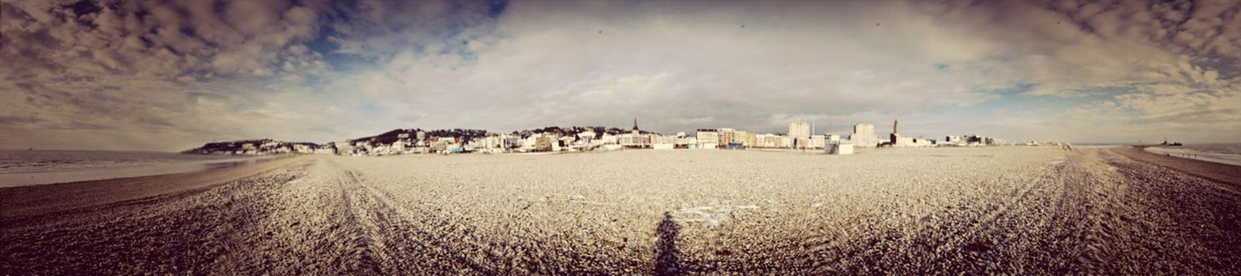 Panorama at Plage du Havre by Sebdevinc