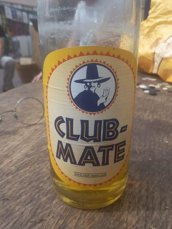 Clubmate Anti Hangover Poop2015