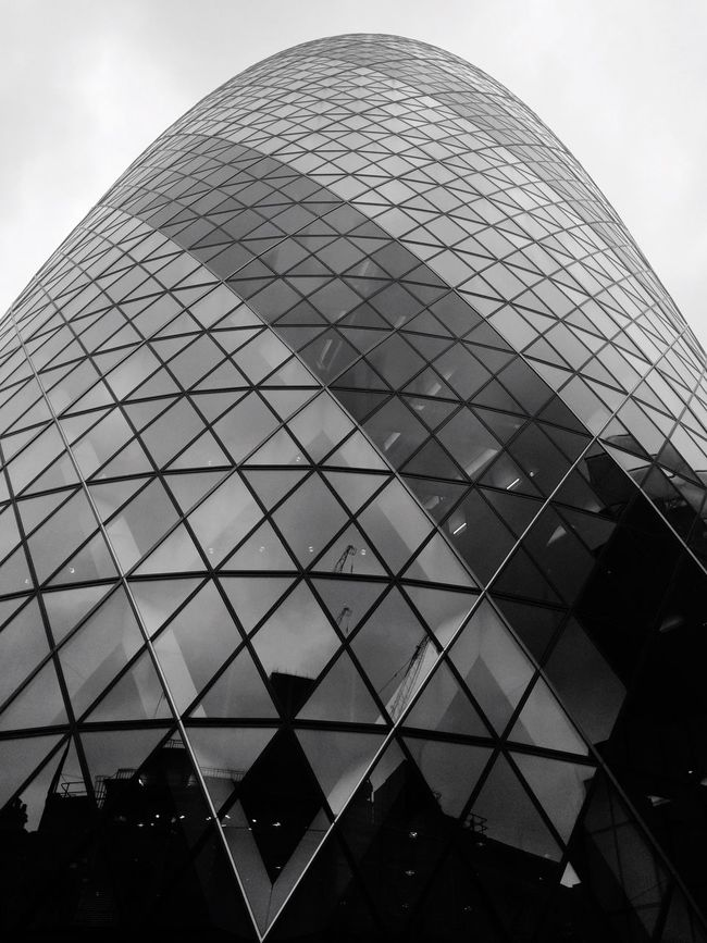 Gherkin Tower Skyscraper City Cityscape Architecture Highrise Glass London IPhoneography