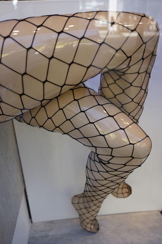 dummy whith fishnet stockings Detail Display Dummy Fashion Fishnet Legs Mannequin Reflexes Sexylegs Stockings Window