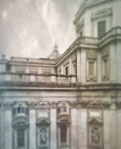 Santa Maria Maggiore Christianity Architecture Rainy Days Grey Sky Greatness