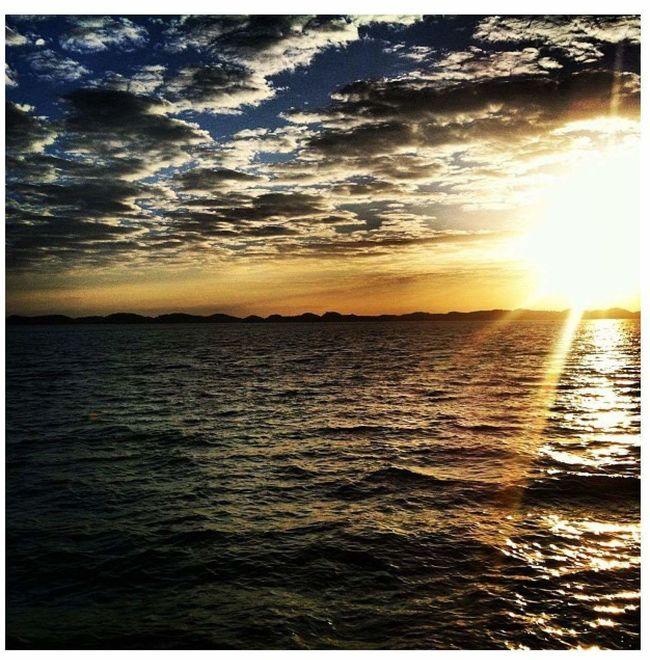 Sunrise Philippines HundredIslandPhilippines Sea And Sky Sea View Sea First Eyeem Photo
