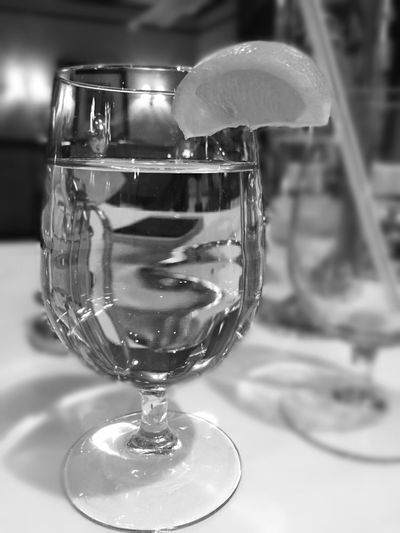 A normal glass of water make a beautiful picture