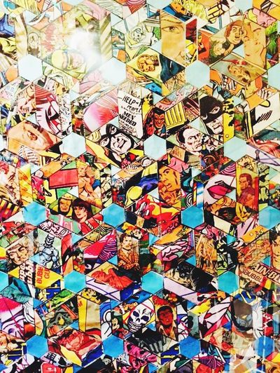 Geometry ArtWork Art Marvel Cartoon Exhibition Fantastic Exhibition