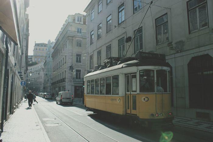 Portugal Lisbon Traveling Interrail 2015 Enjoying Life Europe Tram