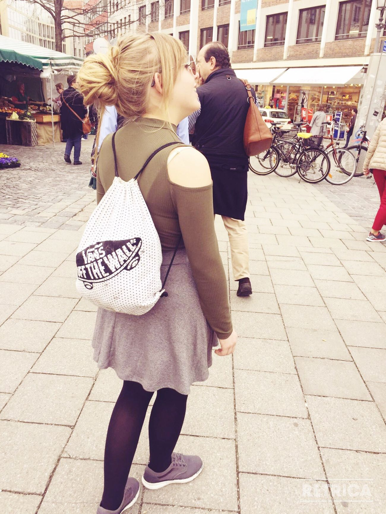 Street City Real People Holiday Person Outdoors Vans Off The Wall Vans München Chilling NeverGrowUp Keep Smiling