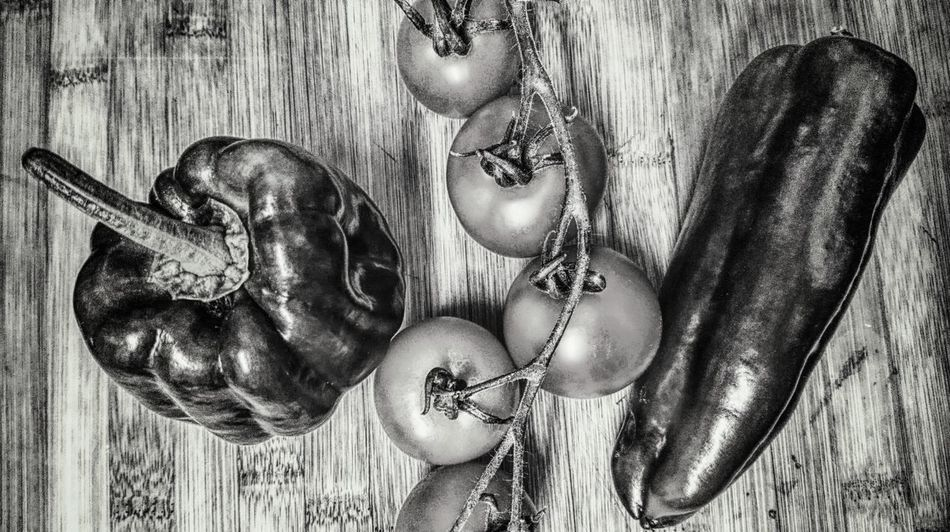 Wood - Material Blackandwhite Photography Taken From Smartphone Camera Norwich Harvesting Time Pepper - Vegetable Tomatoes On The Vine Editing Photos Taken From Above.