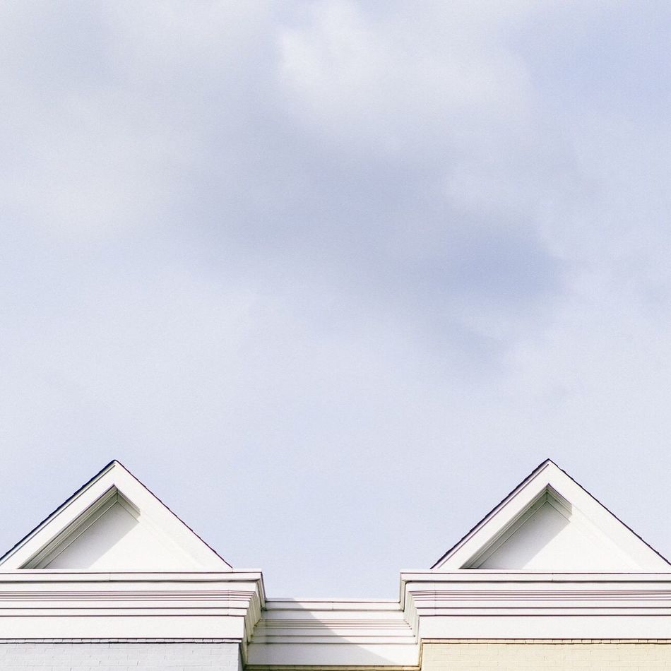 Façade tops in Adams Morgan, Washington, D.C. Rooftops Architectural Detail Architectureporn Architecture