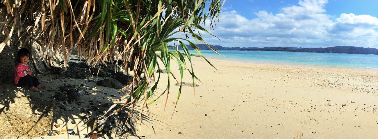 晴れ間が広がりました。 Amami Island Island Ocean