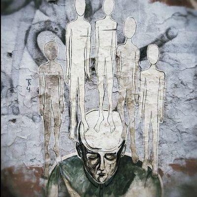 фото нло инопланетяне Мужик прикольно спб россия стена плакат граффити graffiti poster wall spb snapseed streetart art photo instagraphy nikon ufo aliens man