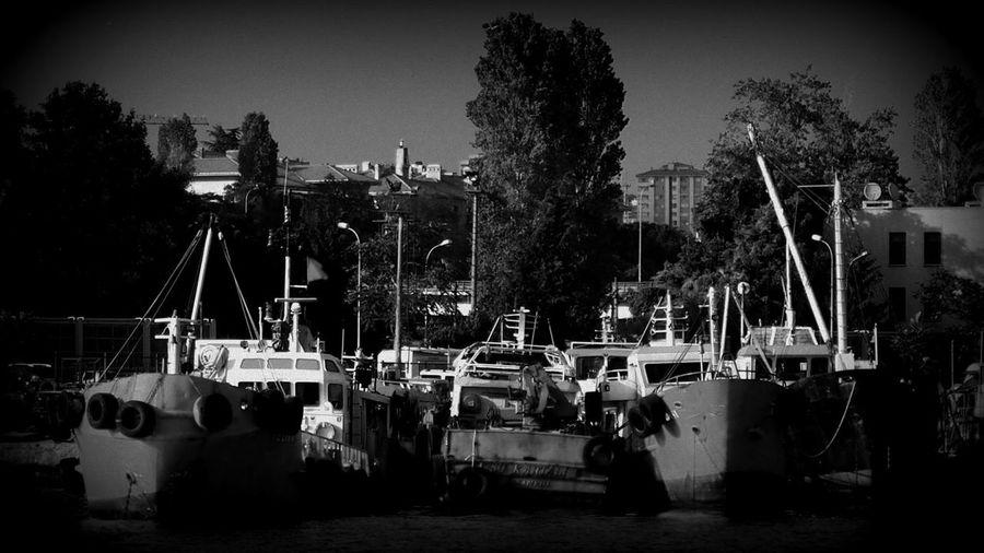 Blackandwhite Ship Old Light And Shadow