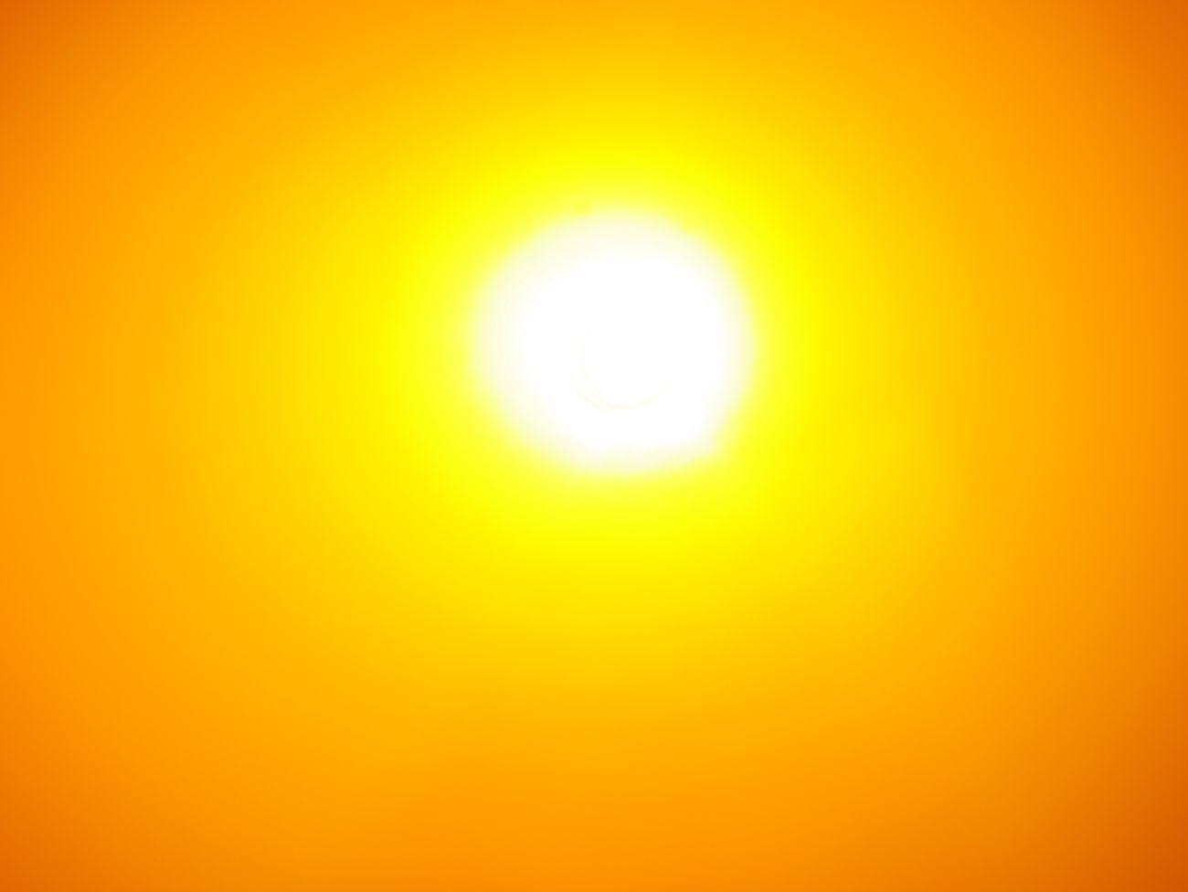 looking straight into the sunlight Yellow Photo Art Abstract Sun Sunlight Bright