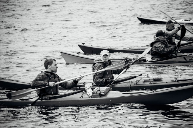 Blackandwhite Canoeing Canoes Day Leisure Activity Lifestyles Water Waterfront Watersport Watersports The Week On EyeEm Monochrome Photography