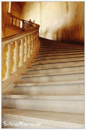 Steps Built Structure Architecture Alhambra De Granada  Carlosvpalace Granada, Spain Andalucía