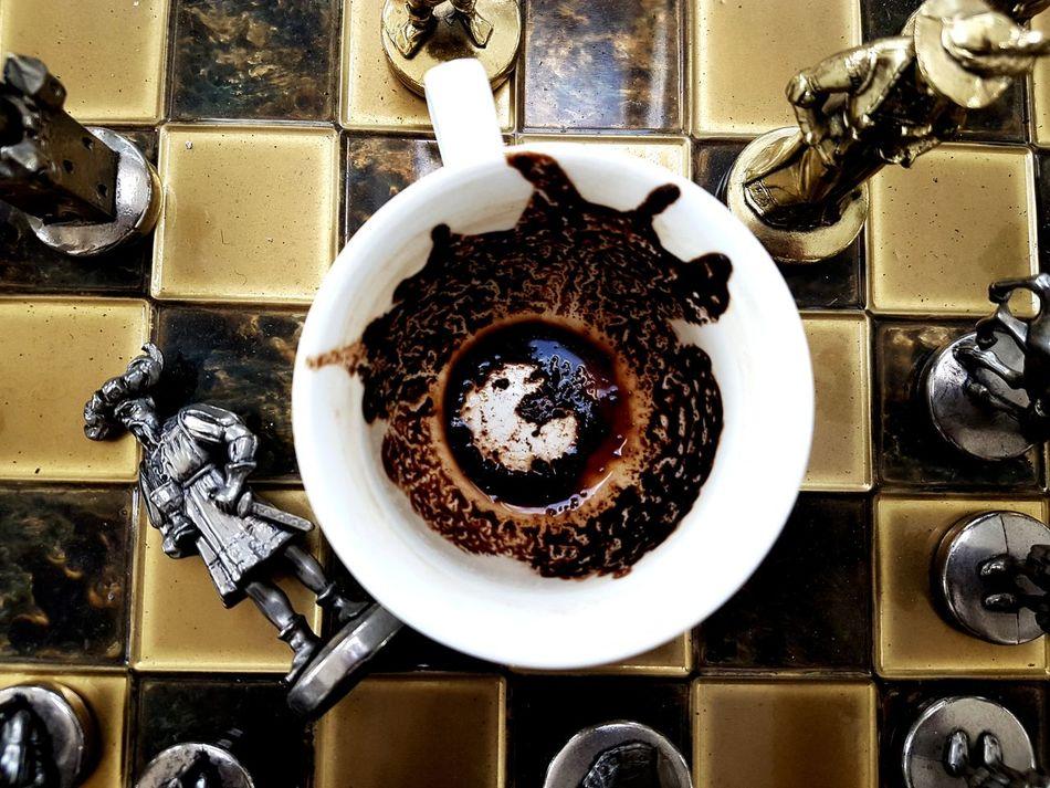 Chess Board Chess Piece Chess Chesse ♥ Chess Set Coffee Coffee ☕ Coffee - Drink