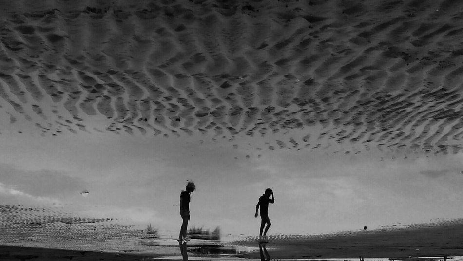 Open Edit Streetphotography Streetphoto_bw Water Reflections Reflection_collection Blackandwhite Photography Pekalongan INDONESIA