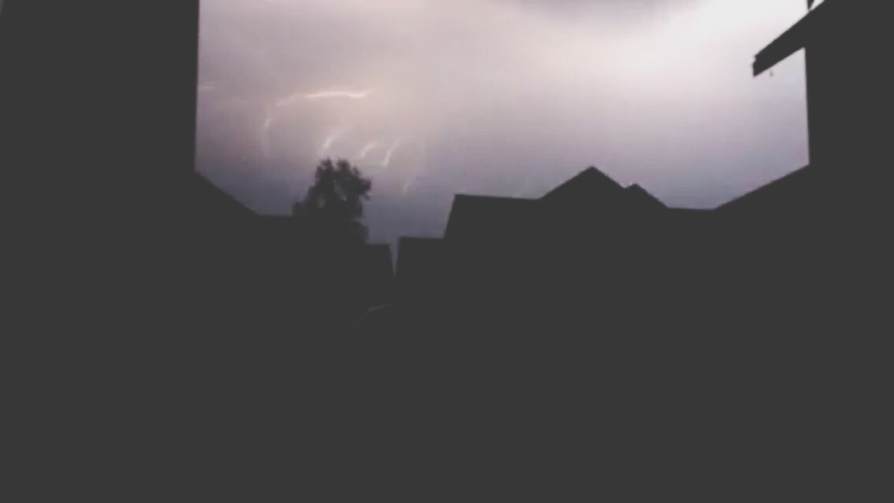 Thunder and lightining storms are the best Thunder Lighting Crappy Picture I Tried