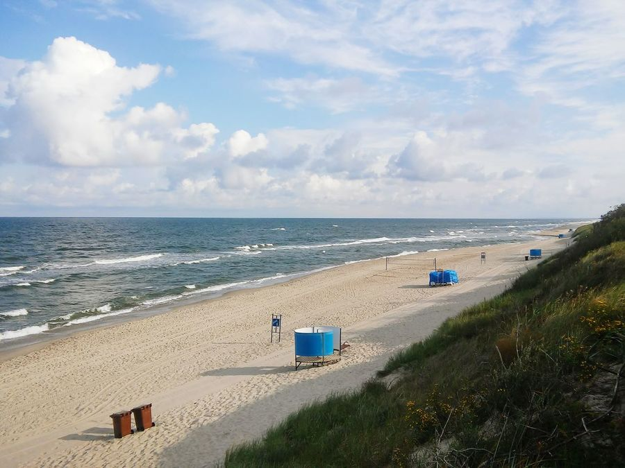 Lithuania Nida Sea And Sky Morning Walk Summer2016 Nature No People Beach Sand